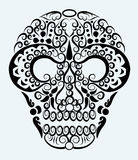 Skull decorative ornament Stock Image