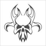 Skull demon or evil horror Royalty Free Stock Photography
