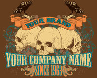 Skull Design Illustration Stock Photo