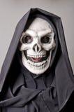 Skull dress, expressive. Stock Image