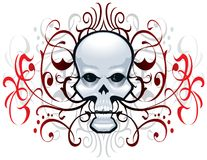 Skull Embellishment Stock Image