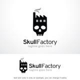 Skull Factory Logo Template Design Vector, Emblem, Design Concept, Creative Symbol, Icon Stock Photography