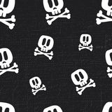 Skull Fun Pattern Stock Photography