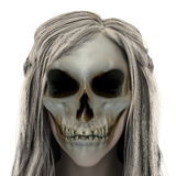 Skull girl Royalty Free Stock Photos