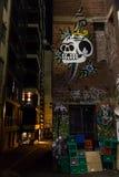 Skull Graffiti Royalty Free Stock Image