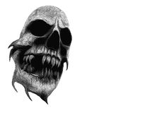 Skull graphic Royalty Free Stock Photography