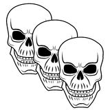 Skull 3 Royalty Free Stock Images