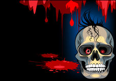 Skull halloween Royalty Free Stock Images