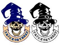 Skull halloween Royalty Free Stock Image