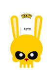 Skull hare. Rabbit mask for Halloween. Vector illustration Royalty Free Stock Image
