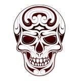 Skull head tattoo Royalty Free Stock Photos