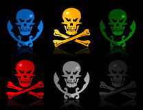 Skull icon Royalty Free Stock Image