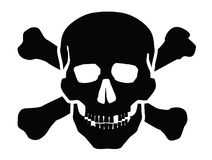 Skull icon Stock Photo