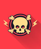 Skull Icon Royalty Free Stock Image