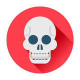 Skull icon Stock Images