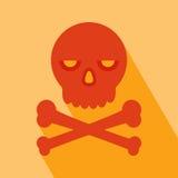 Skull Icon Stock Image