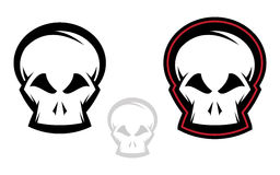 Skull Icon Set Royalty Free Stock Photography