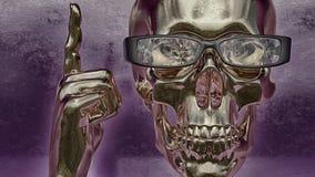 Skull illustration Stock Photos