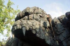 Skull Island królowanie Kong Zdjęcia Stock