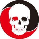 Skull logo Royalty Free Stock Image