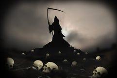 Skull mound mort Royalty Free Stock Image