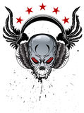 Skull Music Stock Photography