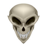 Skull of a mutant Stock Photo