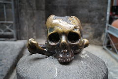 Skull Naples Royalty Free Stock Images