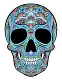 Skull with ornaments Stock Photography