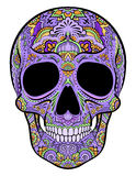 Skull with ornaments Royalty Free Stock Photography