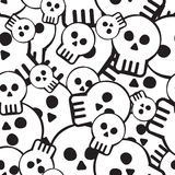 Skull pattern Royalty Free Stock Photography