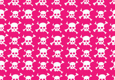 Skull pattern Royalty Free Stock Photos