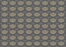 Skull pattern Stock Image