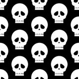 Skull seamless pattern Royalty Free Stock Photography