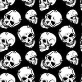Skull pattern Royalty Free Stock Image