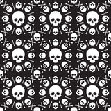 Skull pattern Royalty Free Stock Images