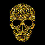 Skull pattern Stock Photo