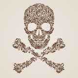 Skull pattern Stock Photos
