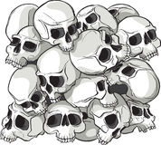 Skull Pattern Stock Images