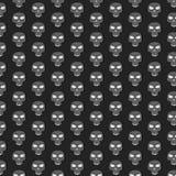 Skull pattern Stock Image
