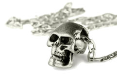 Skull pendant Stock Photography