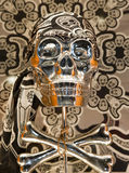 Skull of pirates Royalty Free Stock Photos