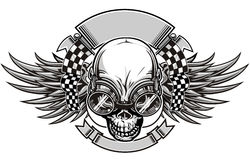 Skull racing Stock Images