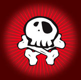 Skull Red Stock Images