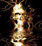 Skull Reflection Royalty Free Stock Photo
