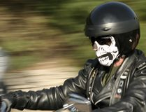 Skull Rider royalty free stock photography