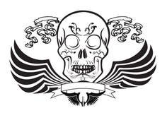 Skull rock art Royalty Free Stock Photo