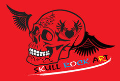 Skull rock Stock Photography