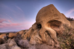 Skull Rock Joshua Tree National Park Royalty Free Stock Photos