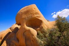 Skull rock in Joshua tree National Park Mohave California Stock Photo